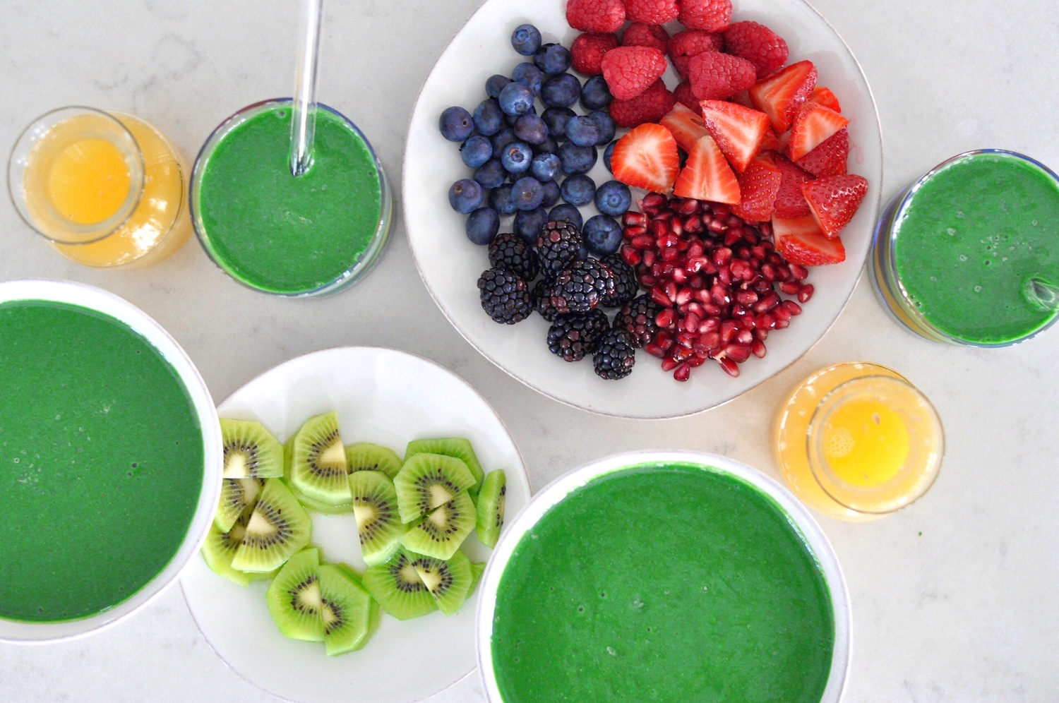 Erin Stanczyk | Lifestyle Design | eat.move.rest. | Lean Green Protein Smoothie