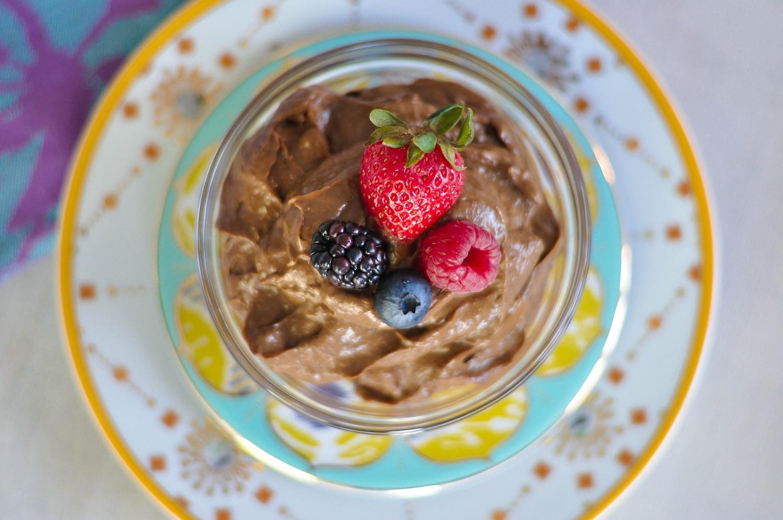 Erin Stanczyk   Lifestyle Design   eat.move.rest.   Valentine's Raw Avocado Chocolate Mousse