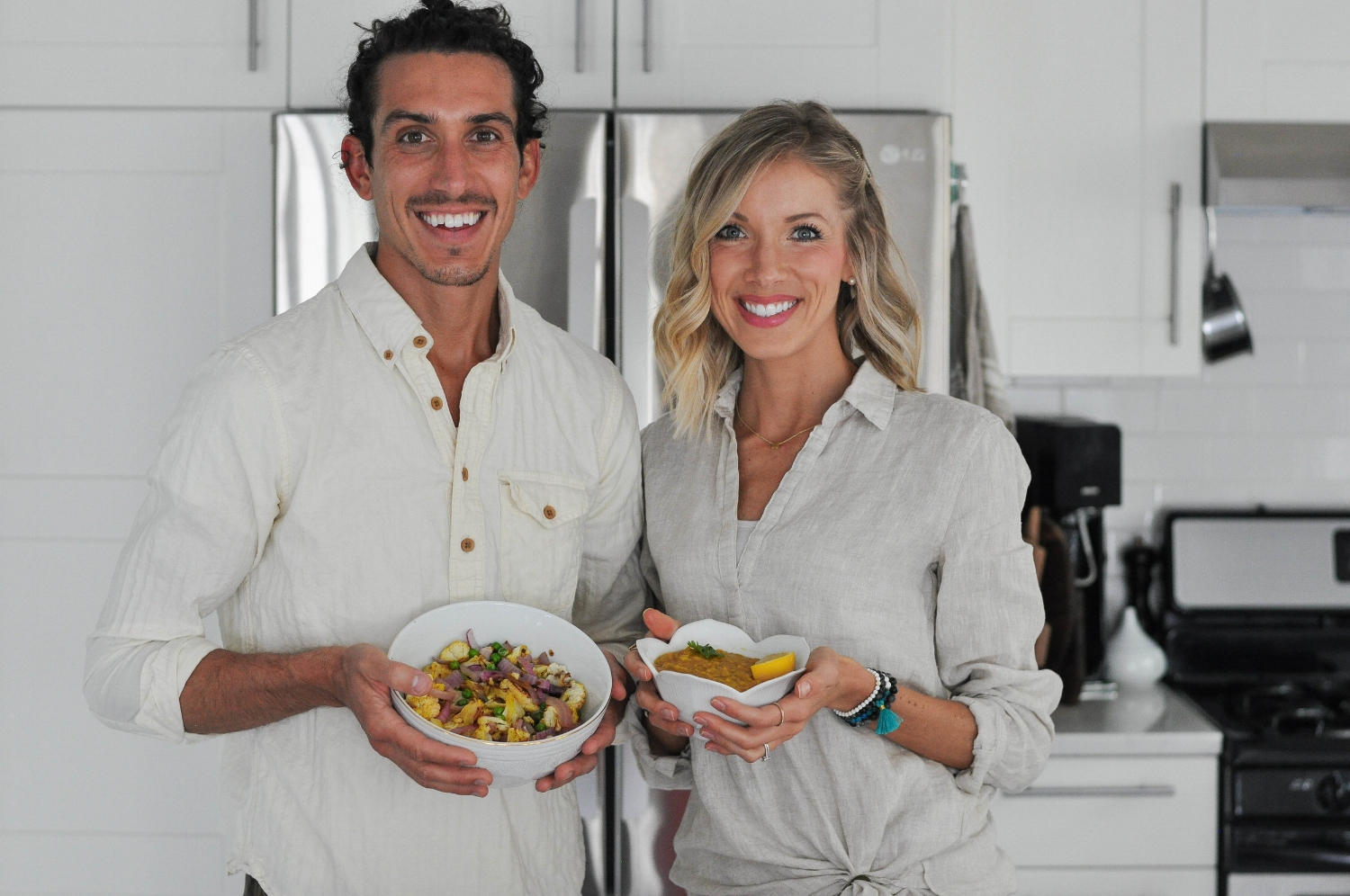 Erin Stanczyk   Lifestyle Design   eat.move.rest.   INDIAN RED LENTIL DAL + CURRY ROASTED CAULIFLOWER W/ BROWN RICE