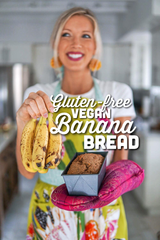 Erin Stanczyk   EatMoveRest   Homemade Banana Bread: Gluten-free + Vegan