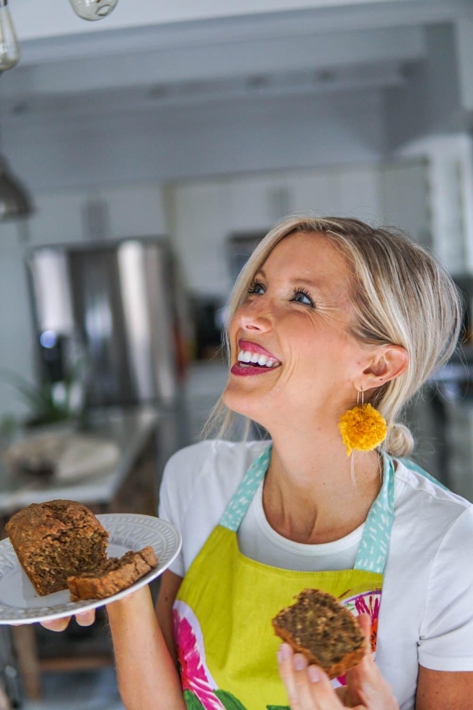 Erin Stanczyk | EatMoveRest | Homemade Banana Bread: Gluten-free + Vegan