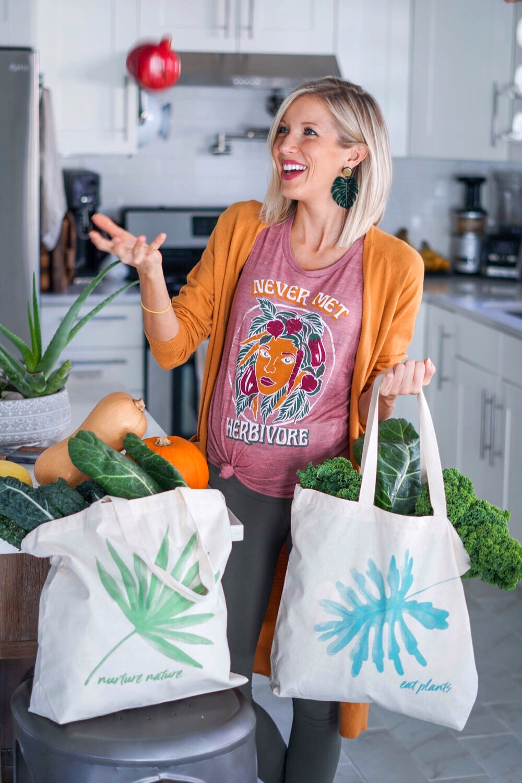 Erin Stanczyk | EatMoveRest Market Tote