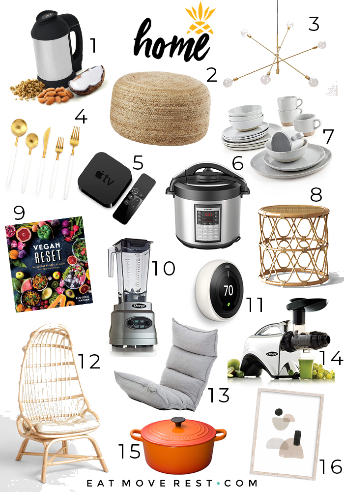 Erin Stanczyk | EatMoveRest.com | 2018 Conscious Consumer Holiday Gift Guide | Home