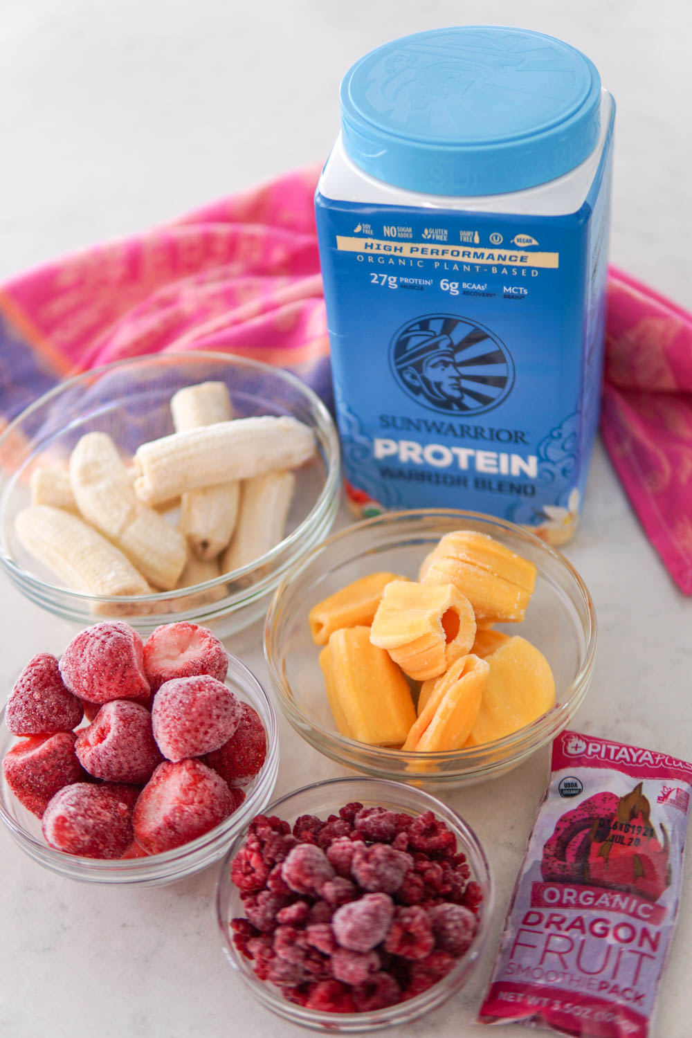 EatMoveRest.com | Pink Bubblegum Smoothie Bowl | by Erin Stanczyk