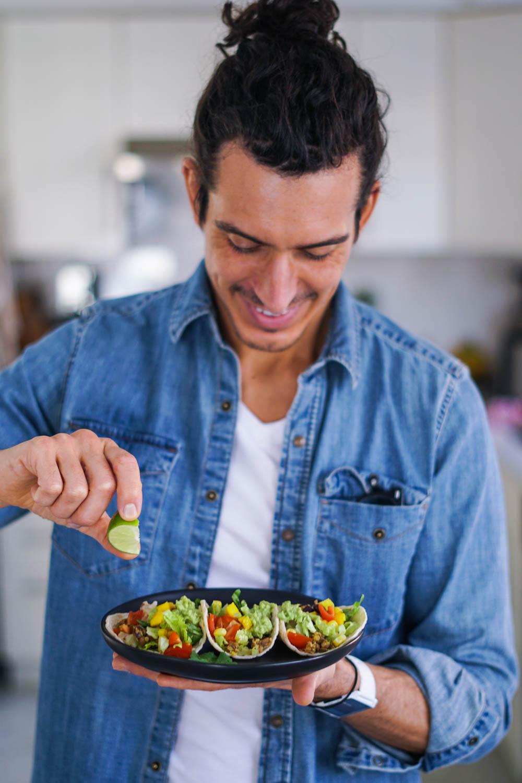 Protein-Packed Vegan Lentil Quinoa Tacos | Erin Stanczyk | EatMoveRest.com