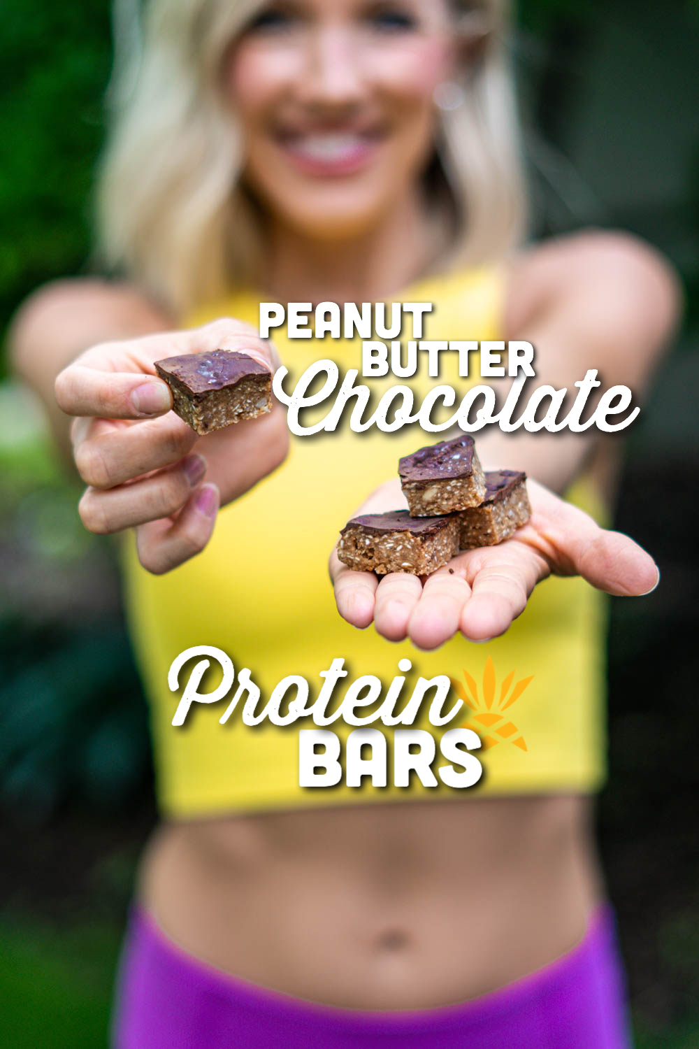 Peanut Butter Chocolate Protein Bars | Erin Stanczyk | EatMoveRest.com