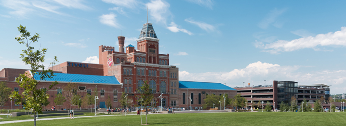 Auraria Higher Education Center - Downtown Denver, Colorado.