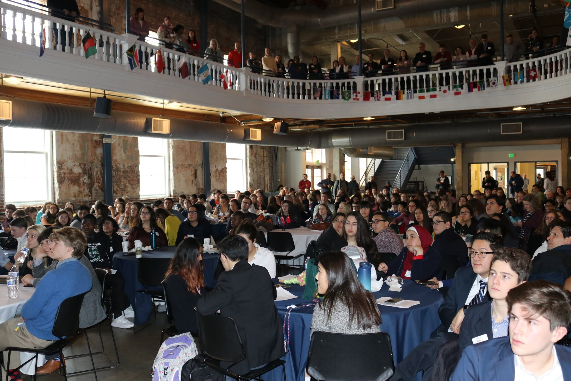 Over 400 participants gathered at the Tivoli on March 2nd, 2019 to participate on the equality-themed World Affairs Challenge.