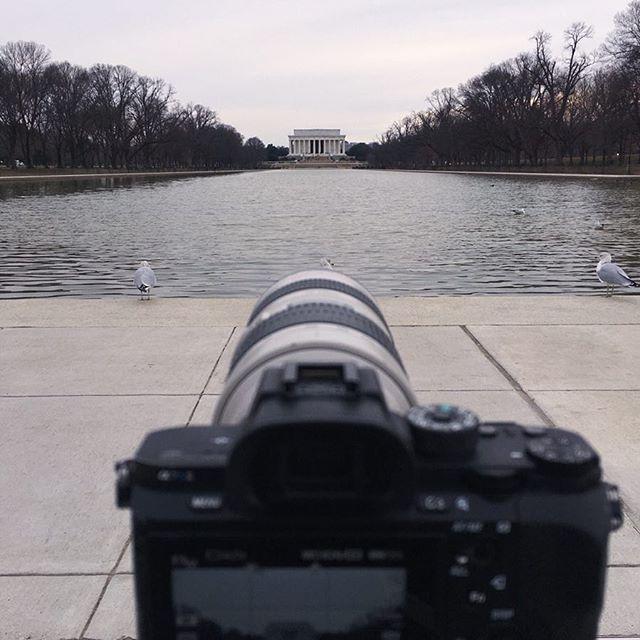 Filming in DC last week was monumental #tbt