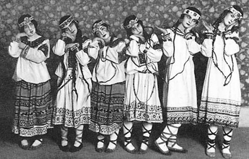 1913 - Vaslav Nijinsky