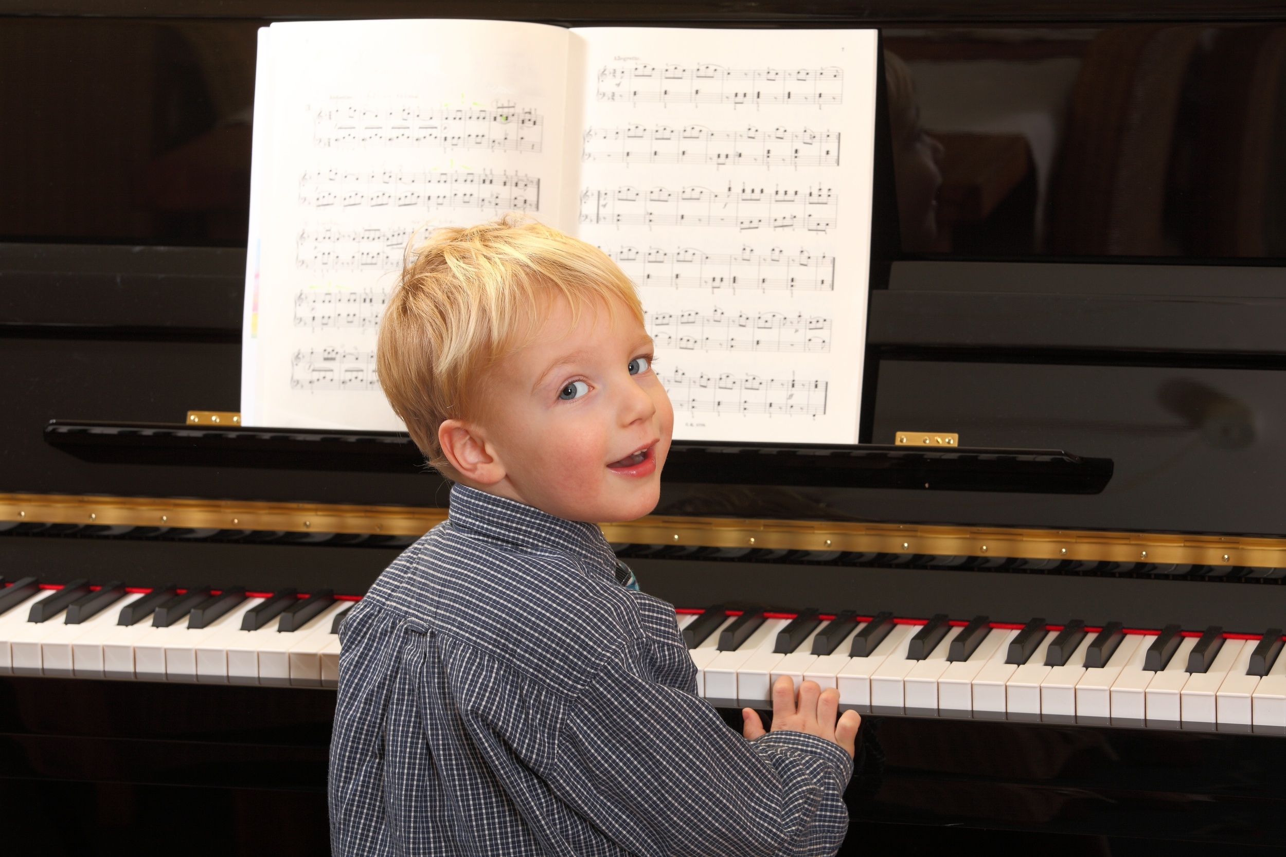 """A music-rich experience for children of singing, listening and moving is really bringing a very serious benefit to children as they progress into more formal learning."""