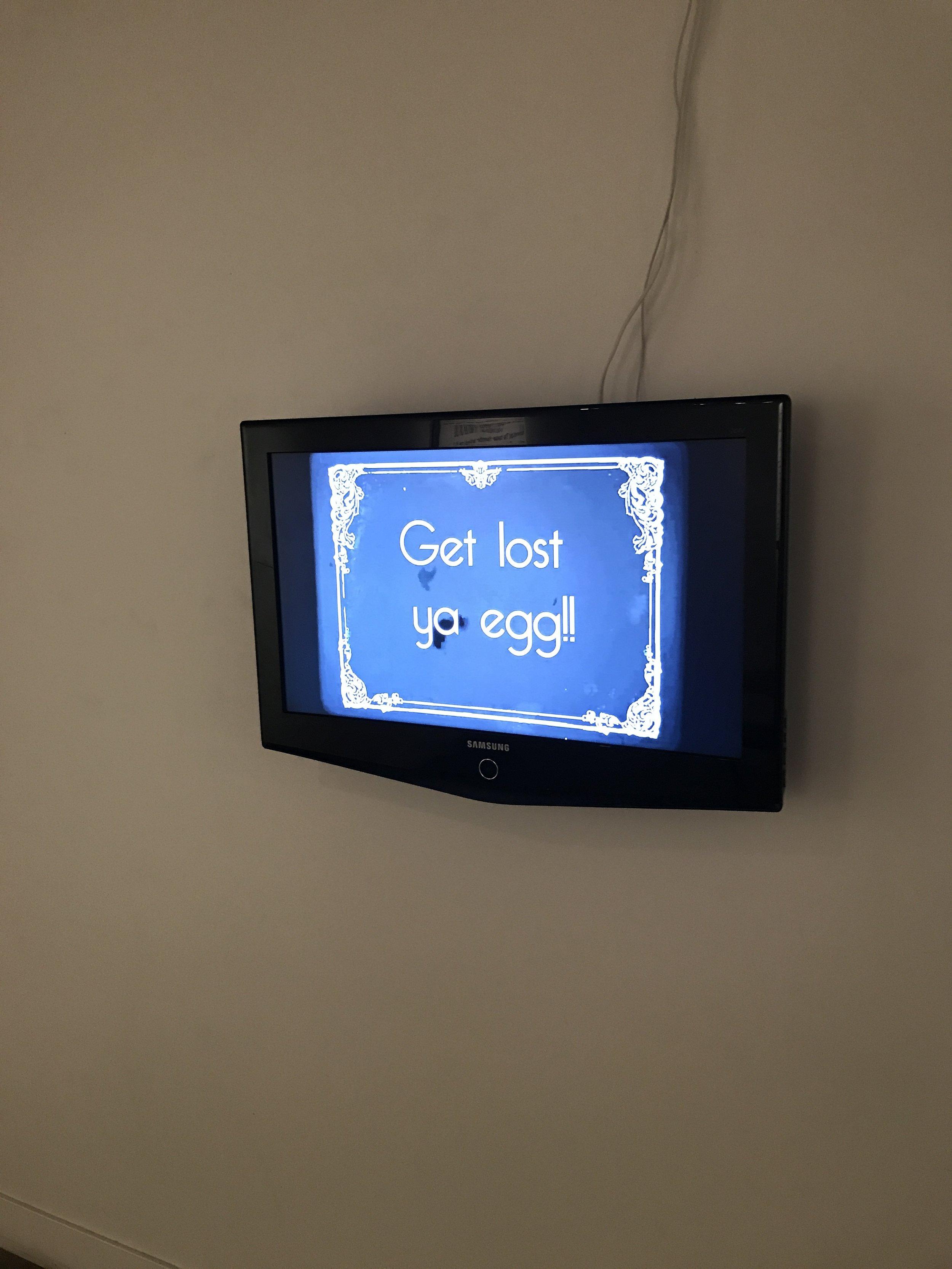 video installation by Paul E Garcia