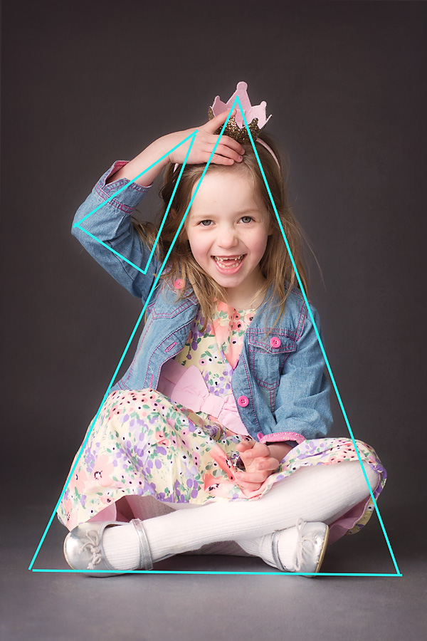 How to use Triangles as a compositional tool in portrait and lifestyle photography.