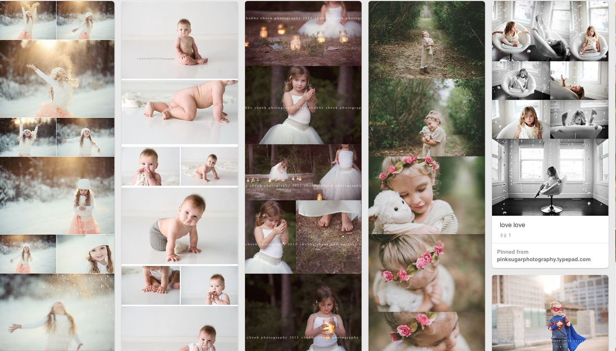 Using Pinterest for Photography Inspiration