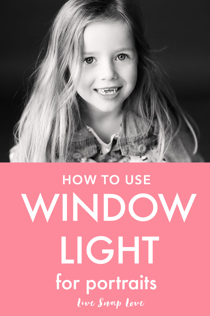 Want smooth, even skin and eyes that are full of life in your portraits? I bet you do!  This simple tutorial will guide you through the first steps of using natural window or doorway light to create beautiful portraits. Click through to read!