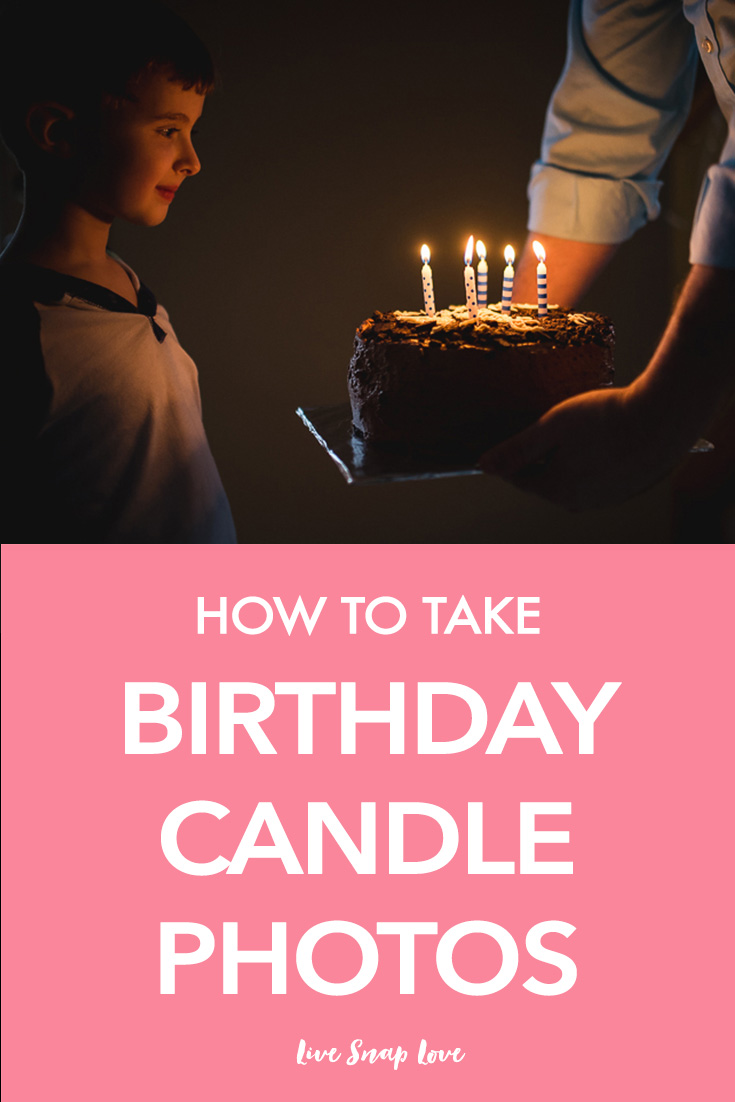 Learn how to take better images of your child blowing out the cake in this step by step tutorial on how to take birthday candle photos! Click through the read the tips.