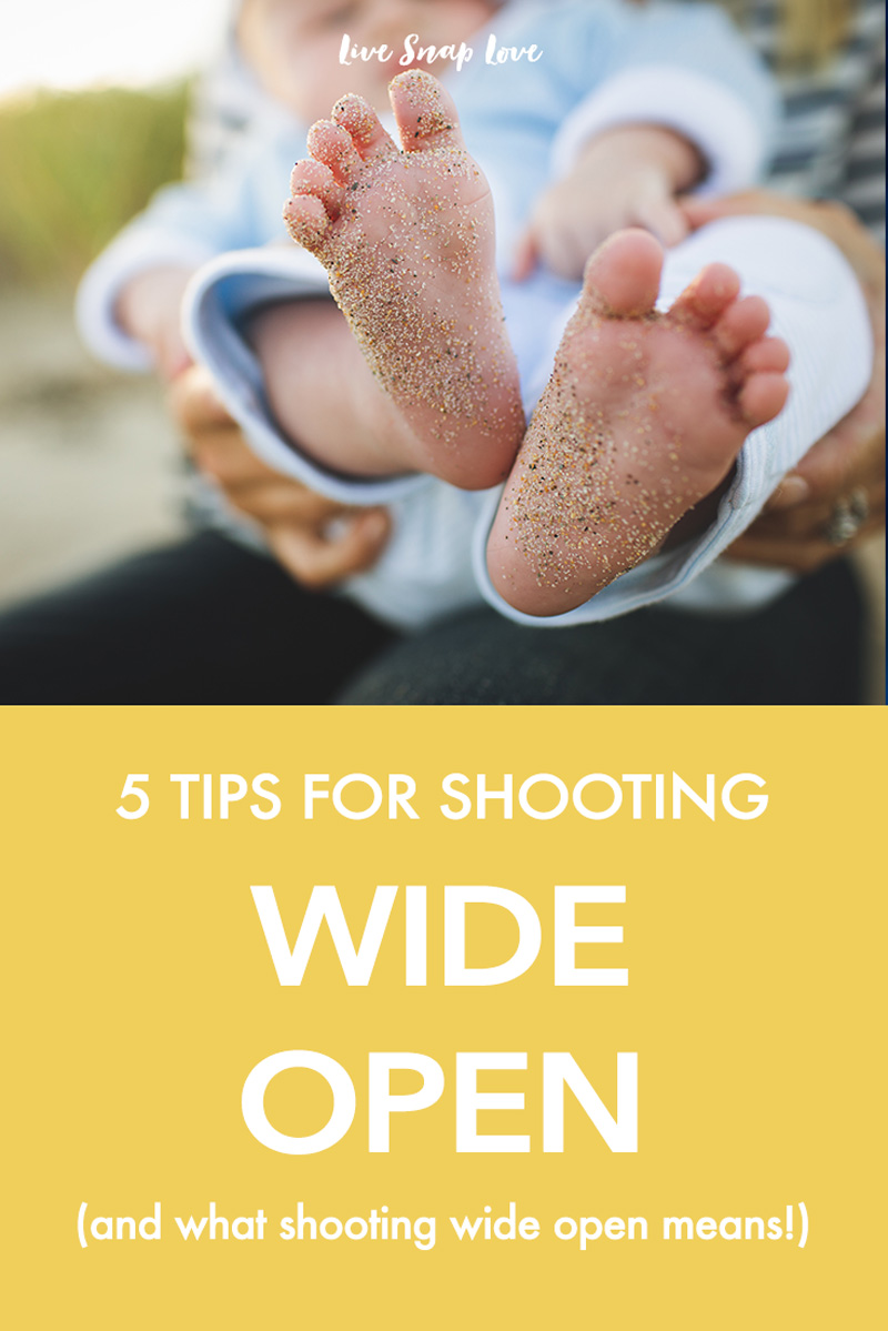 Some tips for shooting wide open, and what that even means!