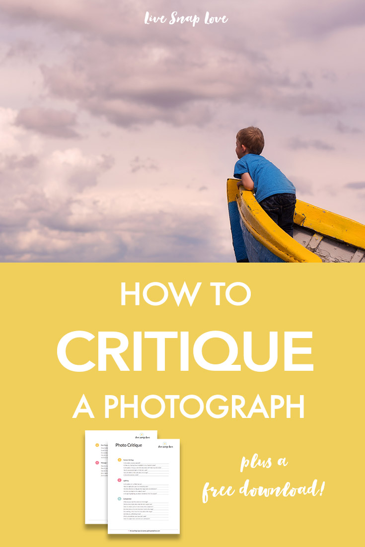 Photography Tips   How to Critique A Photograph
