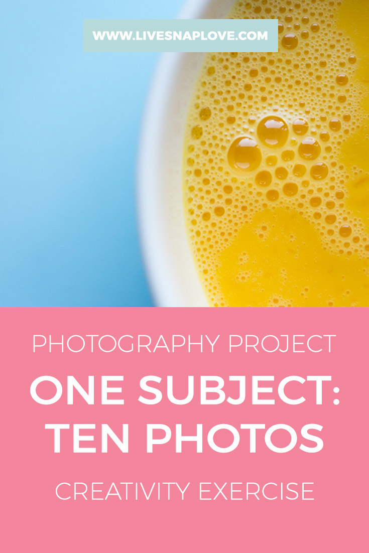 Photography Project   Photo Ideas   Creativity Exercise