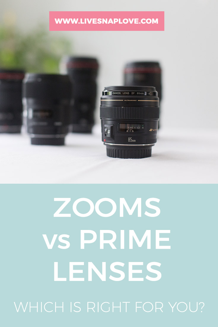 Zooms vs Primes | Camera Gear | Which is right for you?