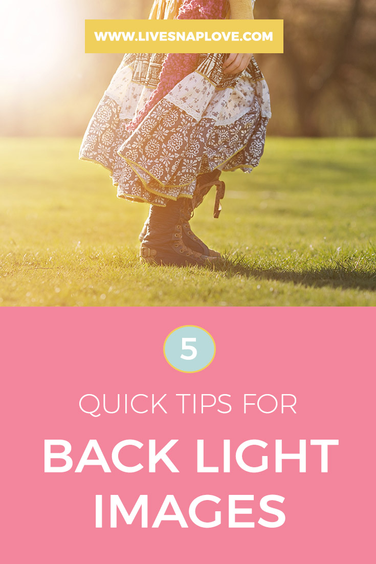 Photography Lighting Tips | Tips for shooting a back lit image