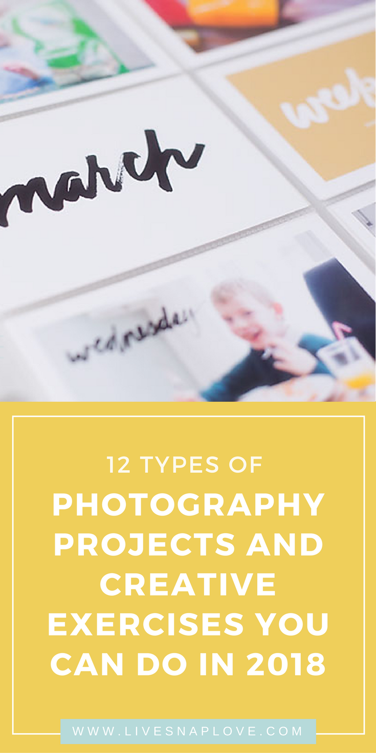 Photography Projects | Photography Ideas | Ideas for Photographs | #photoideas #photographytips