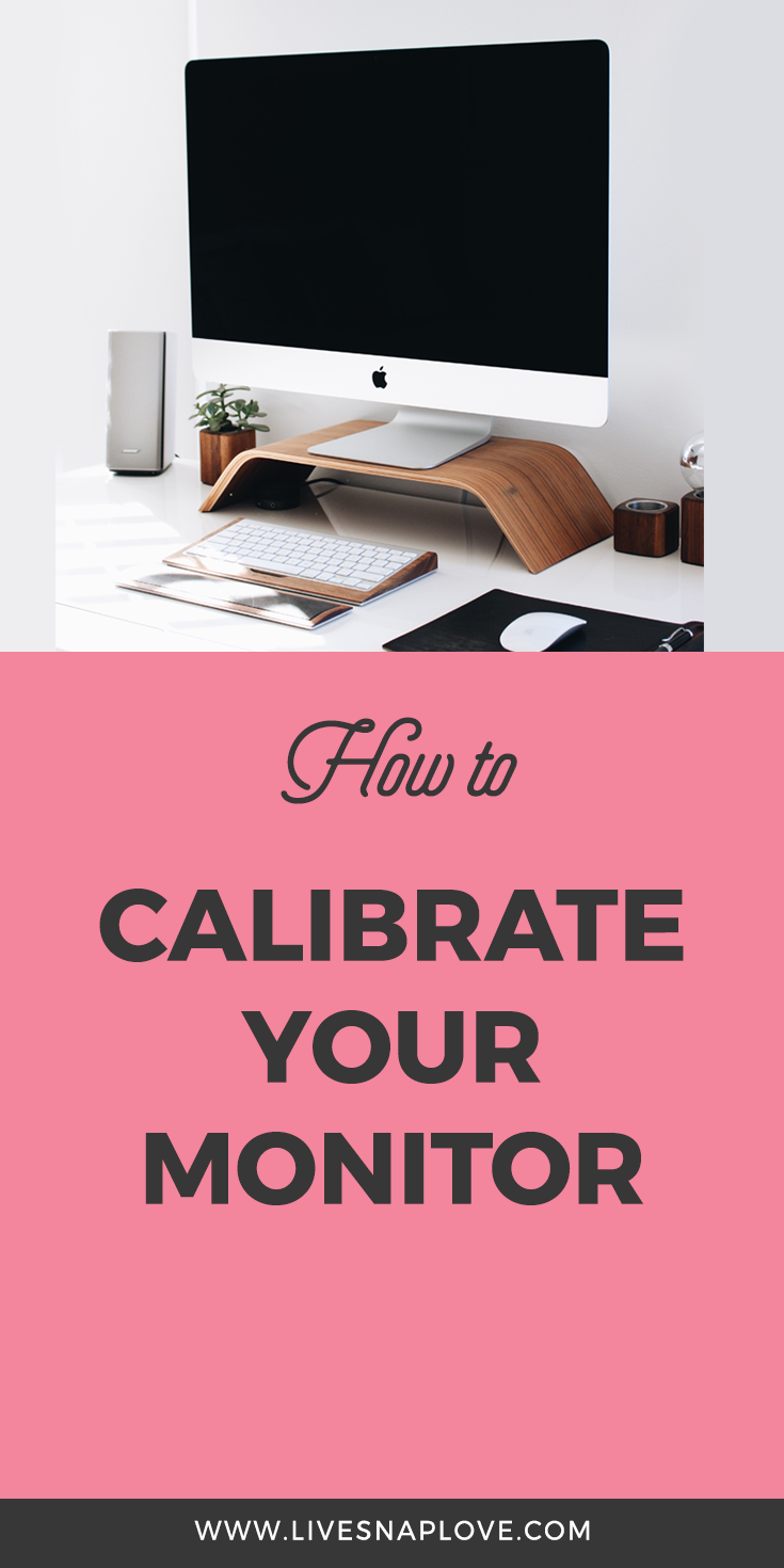 How to calibrate your monitor #lightroom #beginner