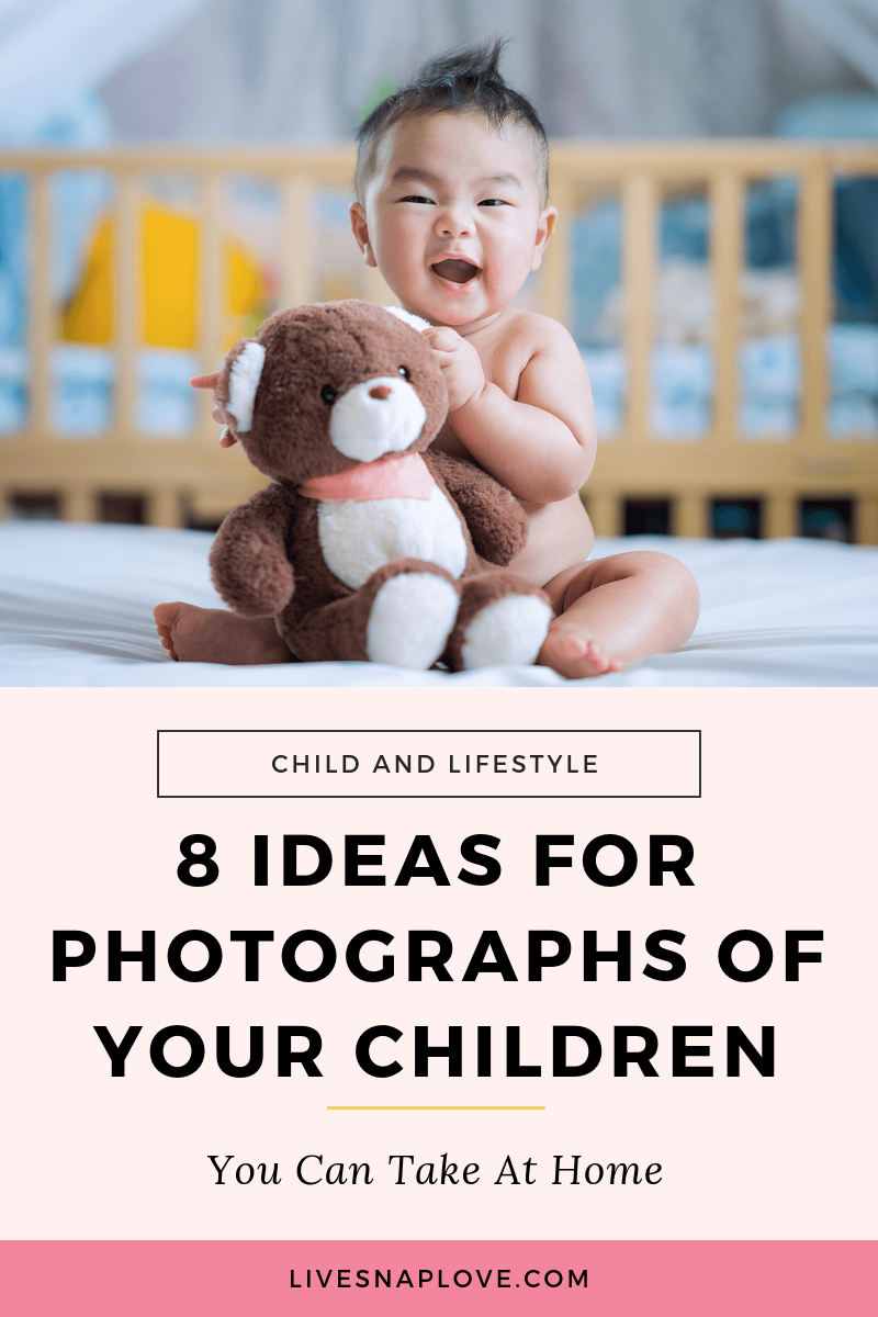 Child photography tips and ideas for photographing your child at home!