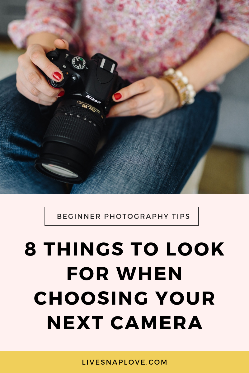 Which camera should I buy? Great question! Check out the 8 things to look for when choosing which camera to buy that's right for you.