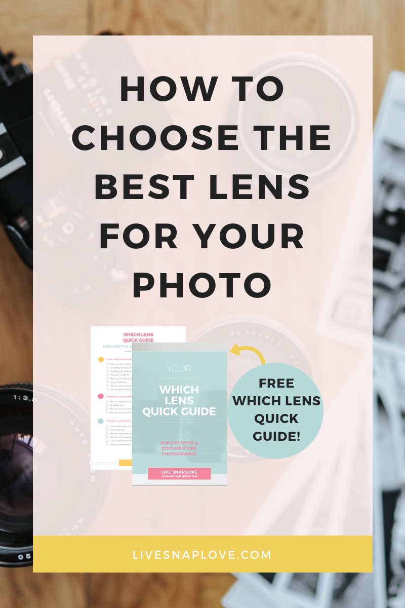 How to choose the best lens for the job | photography gear | photography tips | lenses | camera gear