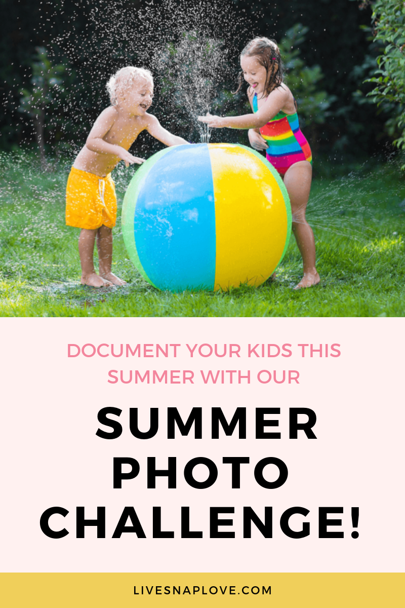 Get some child photography ideas for summer and take part in our summer photography challenge! Document your kids summer with our photo checklist. | Child photography ideas | Summer photography ideas | Summer photos | Summer Photo Checklist