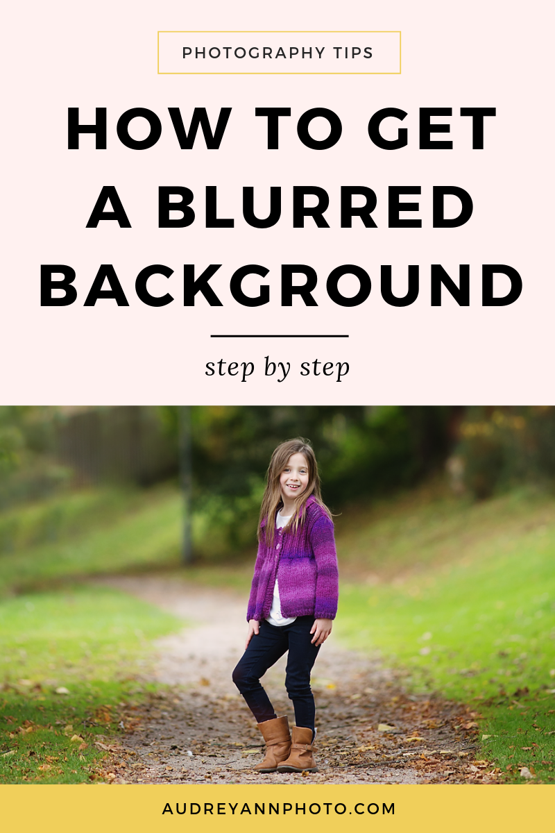 Learn how to get a blurry background in just a few simple steps in this photography tutorial.  You'll learn the camera settings for getting a blurred background, along with tips to help maximise the blur! Plus you'll get a cheat sheet to help you remember it all! #phototips #photographytips
