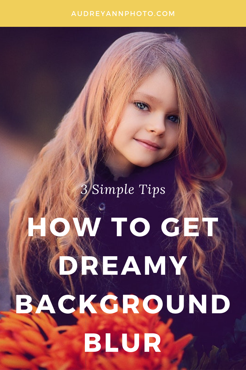 Learn how to get a blurry background in photography with this photography tutorial! Learn the camera settings and tips and tricks that will your subject jump off the page against dreamy background blur. #phototips #photographytips
