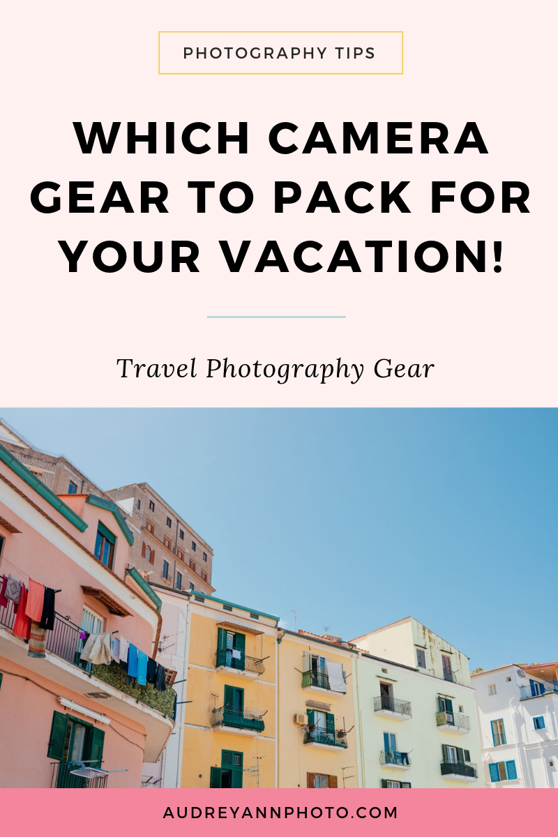 Going on vacation? Learn which travel camera gear to pack with this guide., so you don't miss any essential travel photography gear!