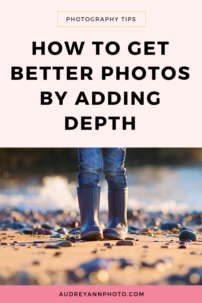 Learn how to add depth to photos with these photography composition tips.  Click through to  get photography composition ideas and examples in this easy to understand photography tutorial! #phototips #photographytips