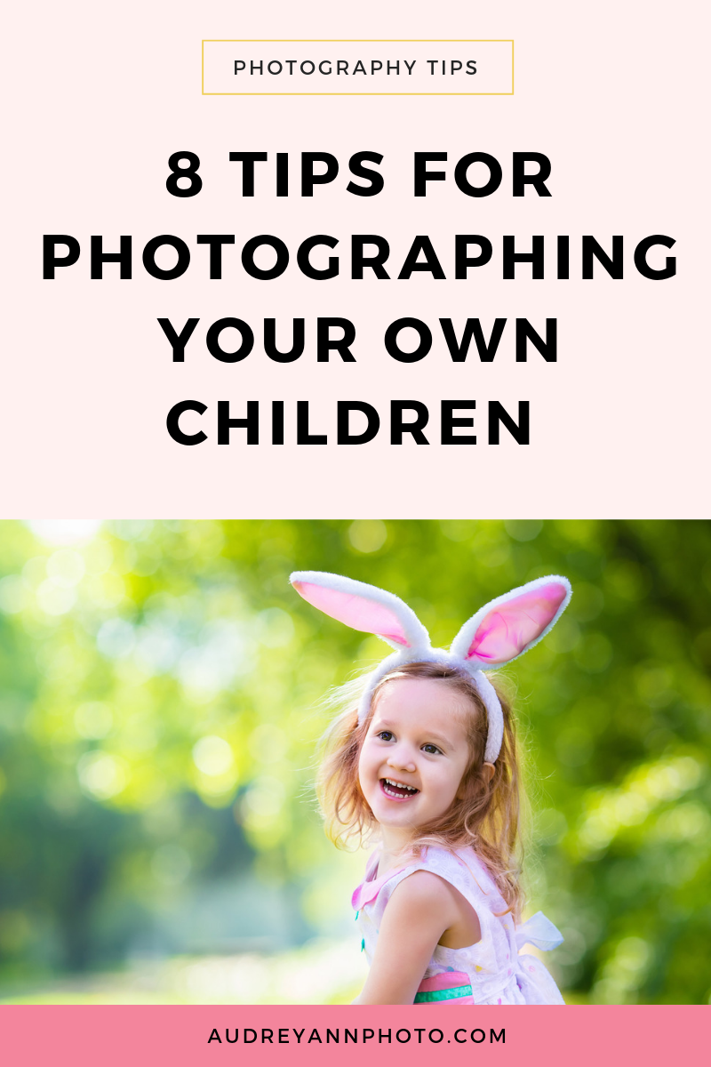 Child Photography Tips | Use these 8 tips to help you take better images of your own children!