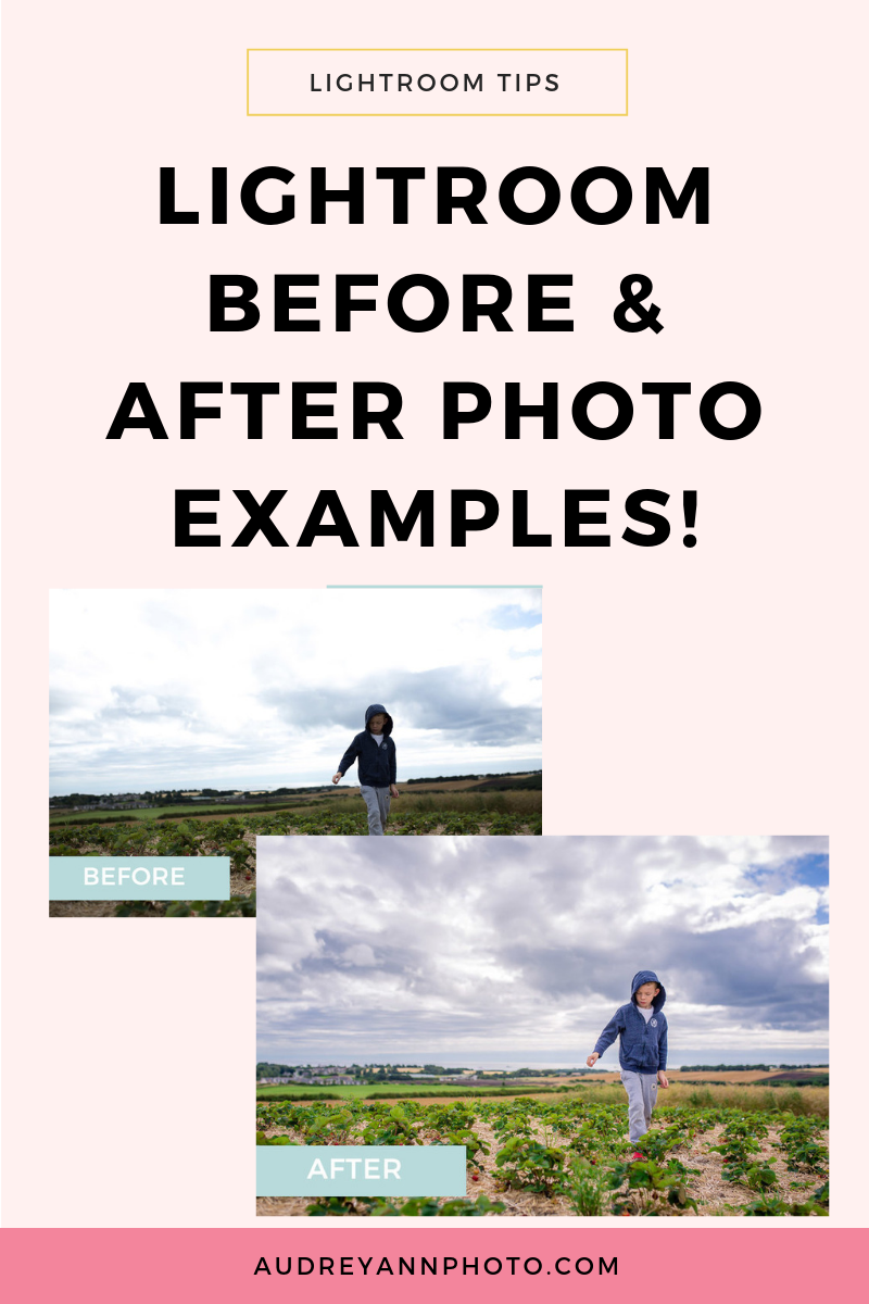 Learning how to use Lightroom? Then check out these Lightroom before and after photos to see what you can do in the program! You can also download a free Lightroom starter kit for some awesome Lightroom tips and tricks. #lightroom #phototips