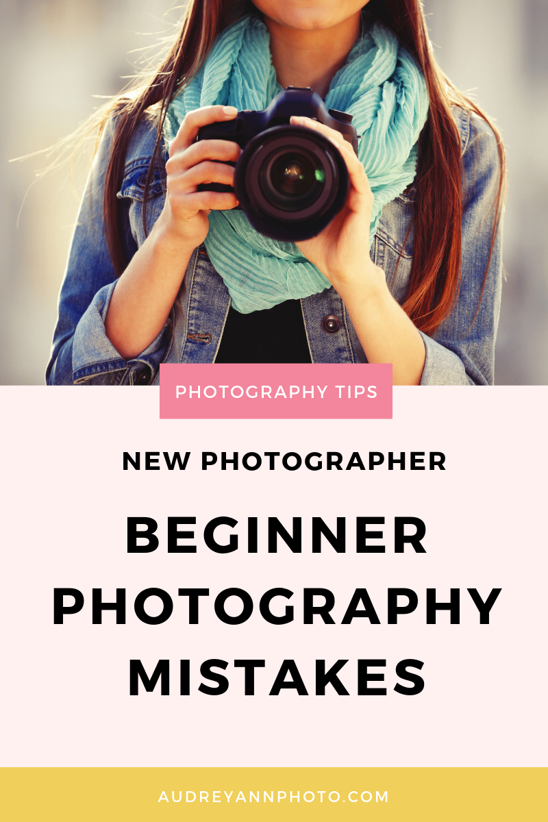 Learn photography for beginners with these 5 mistakes to avoid in photography! We're talking shutter speed, cropping, editing, expsoure, ISO and more, so you'll get loads of photography tips to help you get better photos!