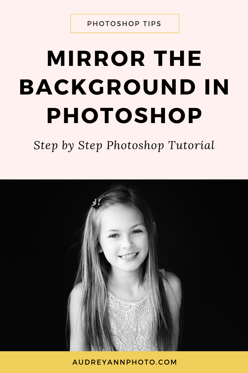 Learn how to mirror the background in Photoshop with this Photoshop for beginners tutorial!
