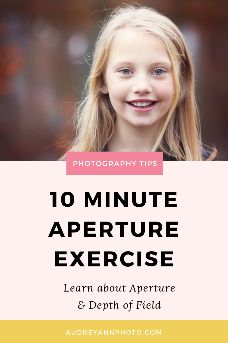 Photography Tips for Beginners | Aperture Tutorial | Aperture Exercise