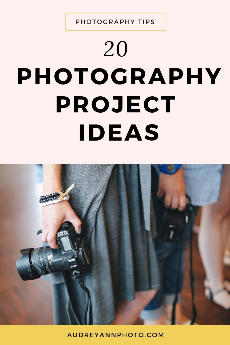 Here's 20 photography projects you can do to help you take better photos!  From creative family photography,lifestyle photography, documentary photography to portrait photography, these creative exercises will give you plenty of ideas for your photography!