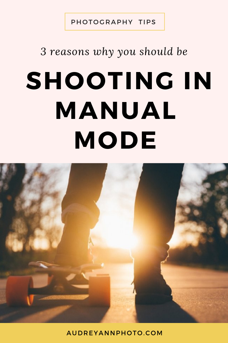 Learn why using the manual camera settings will give you much better results than Aperture Priority mode! Plus you can grab yourself a manual photography cheat sheet at the same time, so you can confidently choose the right DSLR settings.