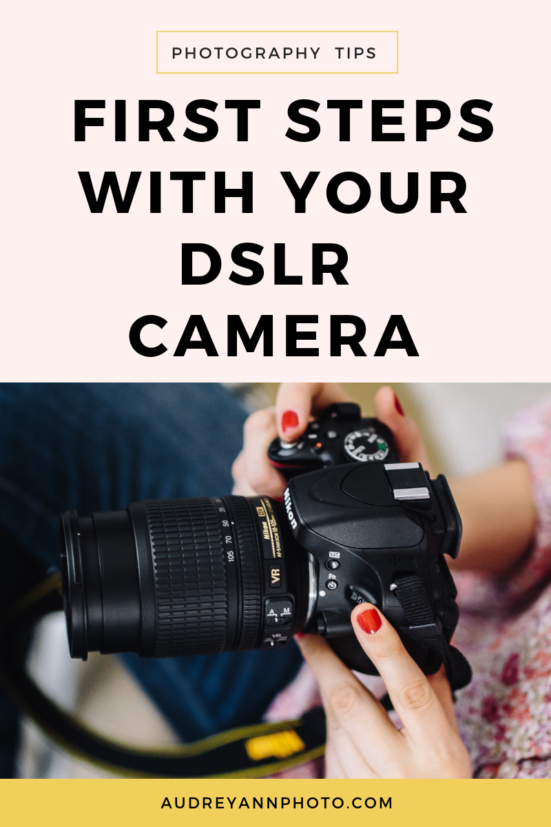 Learn how to change your DSLR settings with these photography tips for beginners.  With tips especially geared toward learning your DSLR for beginners, you'll learn the first steps, along with loads of photography tips that will have you taking better photos in no time!