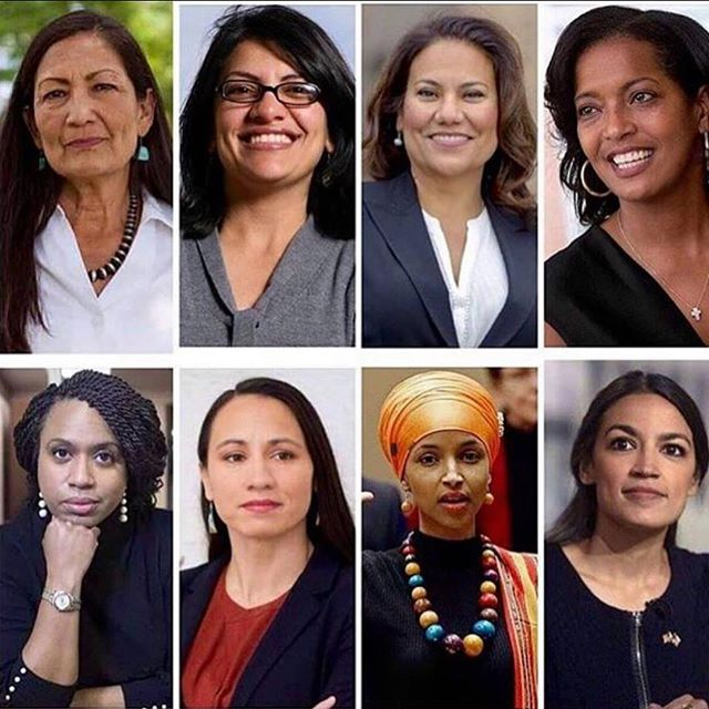 THIS IS AMERICA. Land of the free, home of the brave (WoC fighting for and winning their seats at the table)🇺🇸