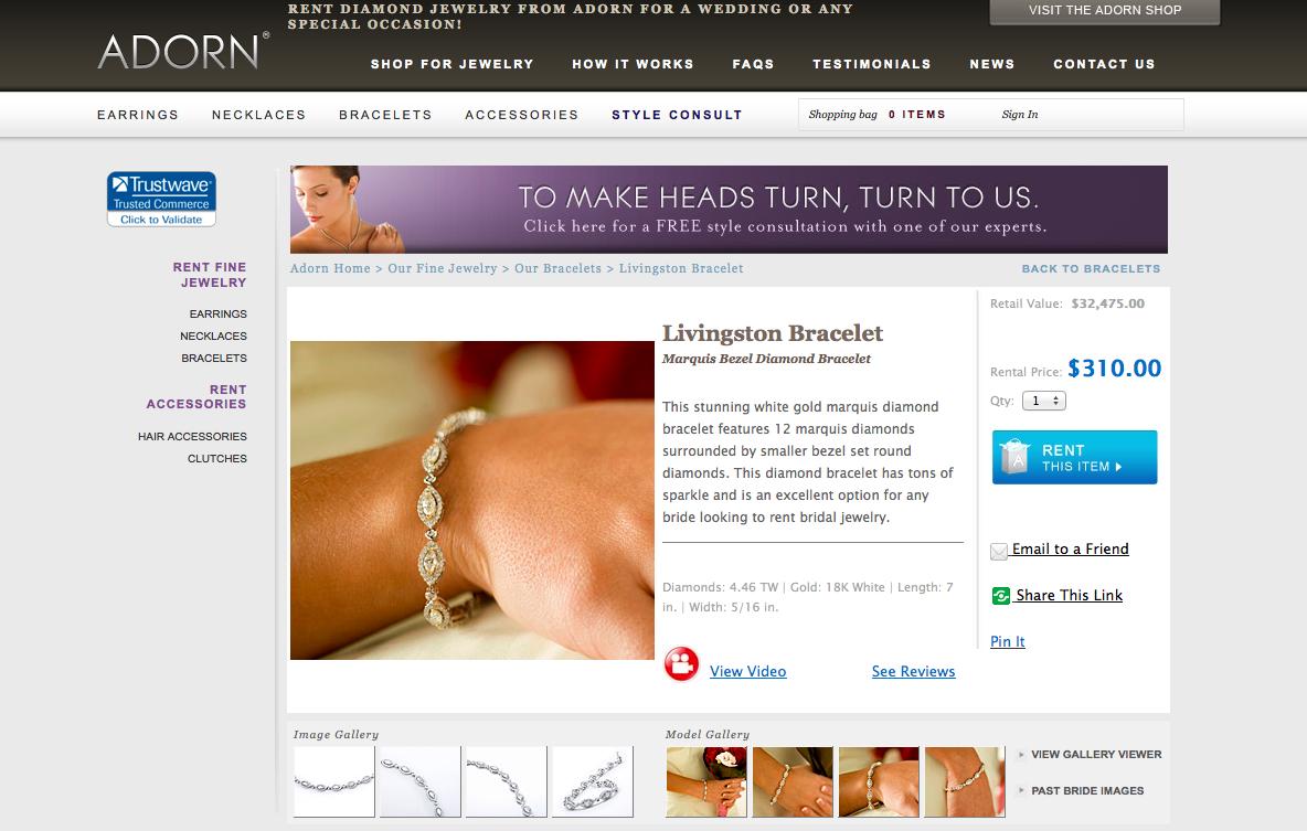 Adorn Livingston Bracelet