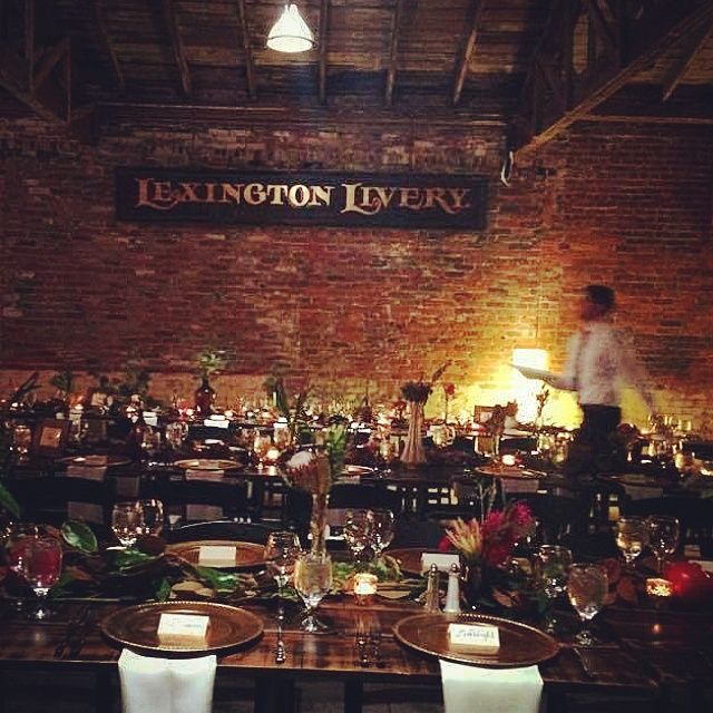 Our very own Marsala inspired wedding at  The Livery !