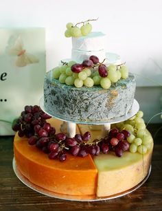 And for those of you who simply don't like sweets…well fruit and cheeses, of course.