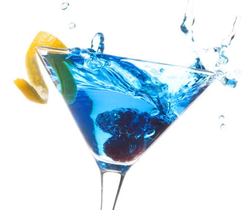 "The ""Big Blue Martini!"""