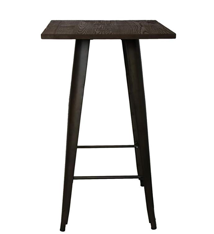 RUSTIC INDUSTRIAL PUB TABLE  (QTY: 12)