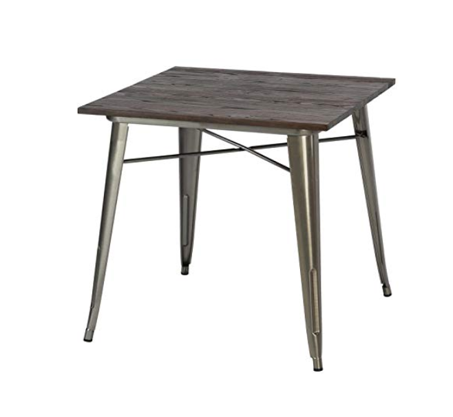 RUSTIC INDUSTRIAL DINING TABLE (QTY: 18)